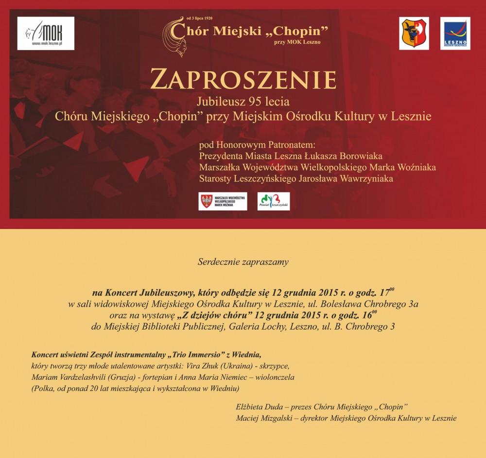 Chór Miejski Chopin Leszno